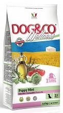 Сухой корм для щенков мелких пород Dog&Co Wellness Puppy Mini Chicken & Rice 7 kg.(с курицей и рисом)
