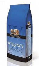 Hrana uscata pentru caini Willowy Daily menu 20 kg.