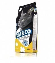 Hrana uscata pentru pisici Cat&Co Chicken&Turkey cu pui si curcan 20 kg.