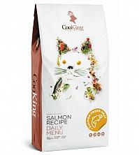Hrana fără cereale pentru pisici care prepară Salmon din carne proaspătă CooKing Cats Chicken 8 kg.