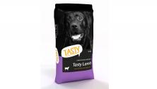 Hrana uscata pentru caini Tasty cu carne de nel gustoasa 15 kg.