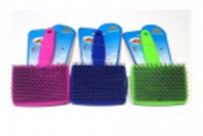 Pieptene plastic mare 14*8,5cm, culori diferite