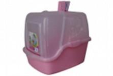 Toaleta inchisa pentru pisici cu filtru si lopatica 52cm*39,5*43cm, set