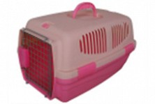 Cusca de transport 081, pentru caini si pisici, din plastic, 47,5*28,5*28cm