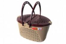 Cos de transport pentru pisici si caini, mica (picnic)