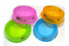 Миски пласмассовые полупрозрачные, разные цвета, 24см №4
