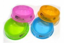 Миски пласмассовые полупрозрачные, разные цвета, 26см №5