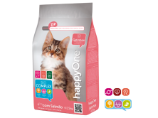 Hrana uscata pentru pisicuta/pisoi kitten HappyOne 1.5 kg cu peste