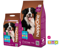 HappyOne Adulto Mix hrana uscata pentru caini adulti 18 Kg.