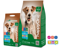 Сухой корм для собак от 7 лет HappyOne Senior 10 kg.