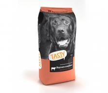Сухой корм для собак Tasty вкусная говядина 15 kg.