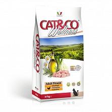 Hrana uscata pentru pisici Cat&Co Wellness Super Premium Fitness Chicken and peas - Pui și mazăre 10 kg(fara gluten)