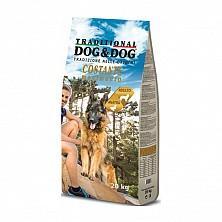СУХОЙ КОРМ ДЛЯ ВЗРОСЛЫХ СОБАК DOG&DOG 10КГ с уткой