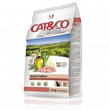 Сухой корм для кошек Cat&Co Wellness Super Premium Adult Indoor – Lamb and potatoes(Ягненок и картофель) 10 kg (без глютена)
