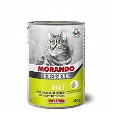 Консервы/влажный корм для кошек/ПАШТЕТ ИЗ ГОВЯДИНЫ С ОВОЩАМИ MIGLIOR GATTO 405Г