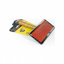 Пуходерка 9501, 13см*11см с деревянной ручкой №3