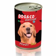 Консервы/влажный корм для собак Dog&Co Beef с говядиной 1250 gr.