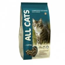 Сухой корм для кошек All Cats 2,4 kg