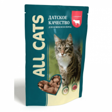 All Cats carne de vita in sos 85 gr.