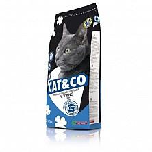 Сухой корм для кошек Cat&Co witn Fish Premium 20 kg. с рыбой